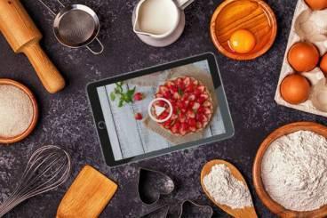 Cours en ligne sur tablette
