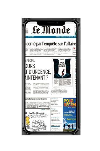 Un article du Monde à lire même sur un smartphone.
